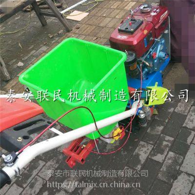 泰安联民供应 小型汽油柴油播种机 平原丘陵轮式多功能耕耘机