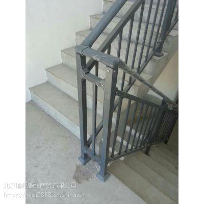 陕西仿木纹靠墙扶手Q235HC,组装楼梯扶手阿克苏喷漆工艺。烤漆阳台栏杆,