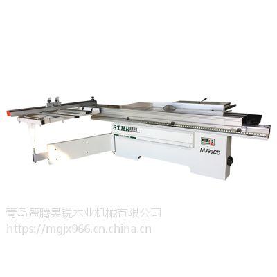 DS90度推台锯 往复式裁板锯 密度板精密锯 刨花板台锯 板式家具生产线设备 数控裁板锯 橱柜裁