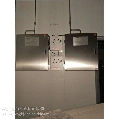 企事业单位饭堂专用单瓶组雾龙牌厨房灶台自动灭火系统