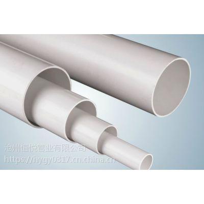 加工定制PVC排水管厂家 PVC排水管优点