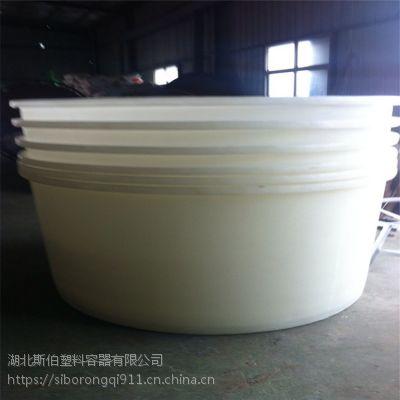 塑料圆桶牛筋化工桶周转桶8000L大水桶水产养龟胶桶酿酒腌菜桶