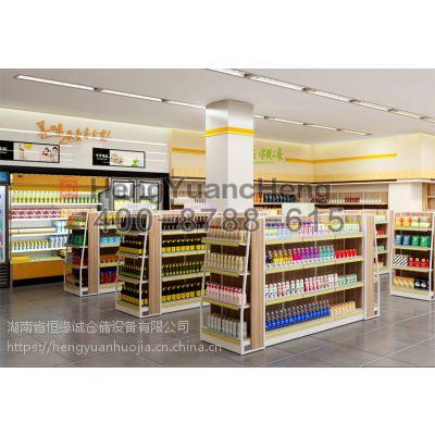 广州恒缘诚批发定做超市货架可按需求定制药店货架、便利店货架定制