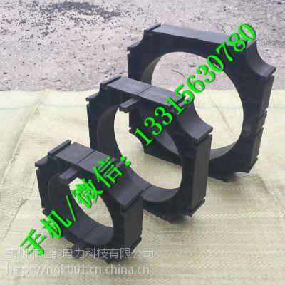 通信管管枕50 75 110 160 PP强力管支撑高强度管枕 汇能