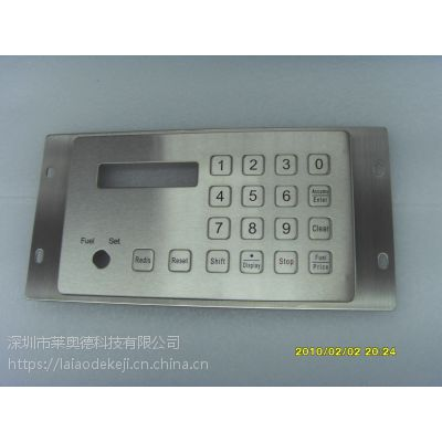 供应自助服务终端机金属键盘按钮密码键盘