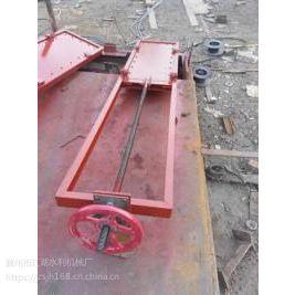 潍坊启闭机 厂家供应机闸一体式铸铁闸门 机闸一体铸铁闸门 机闸一体式闸门
