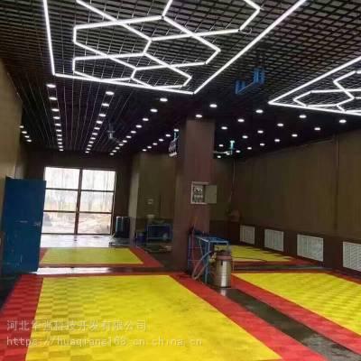 绿色环保防老化拼接地板 400×400×18 【河北华强】