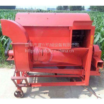 杭州谷子黍子脱粒机 富兴高产量小麦脱粒机 多功能稻麦打粒机厂家价格