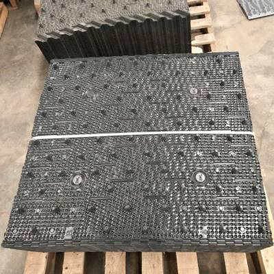 沈阳横流点波填料 600×750PVC淋水片 良机散热填料价格【河北华强】