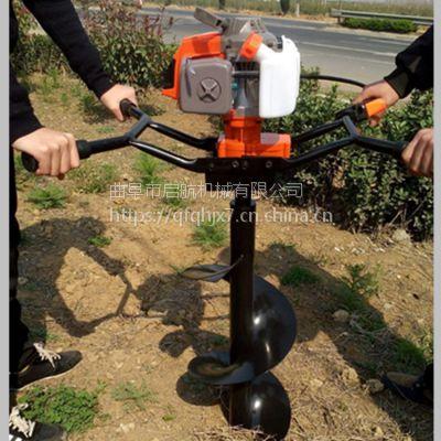 植树挖坑机效果好 手推式打窝机报价 便携式地钻机价格