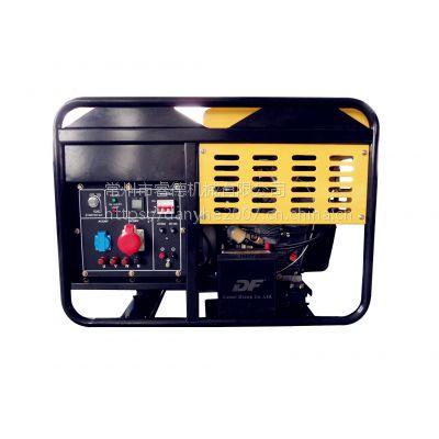睿德R2V88双缸风冷柴油发电机组 10KW柴油发电机组 14HP开架三相