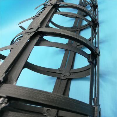 钢塑复合土工格栅四川直销双向50kn国标钢塑土工格栅