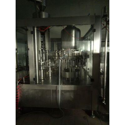 二手碳酸饮料厂设备 全自动三合一灌装机 饮料酒水加工设备