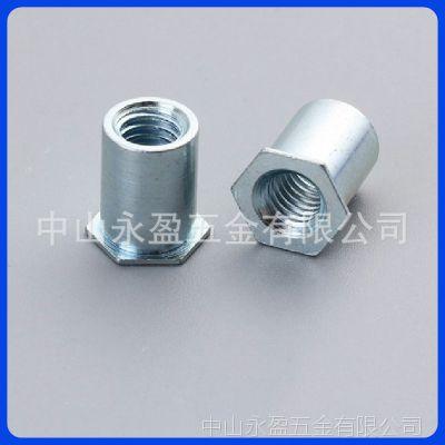 中山佛山SO-3.5M4/M4通孔压铆螺母柱内螺纹铆钉 压铆螺柱压铆件厂