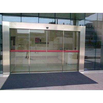 江高安装自动玻璃门,自动门皮带安装图解18027235186