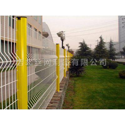 出厂价体育场护栏网 路桥防护 浸塑护栏网LAE