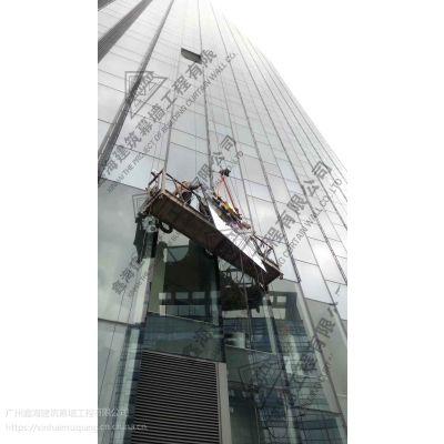 框玻璃幕墙改造公司深圳幕墙玻璃更换公司幕墙打胶