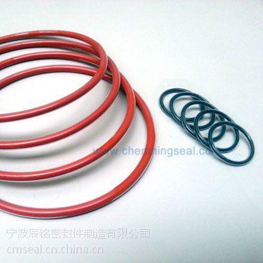 四氟包覆O型圈耐化学腐蚀耐高温密封胶圈定做非标尺寸宁波厂家供应