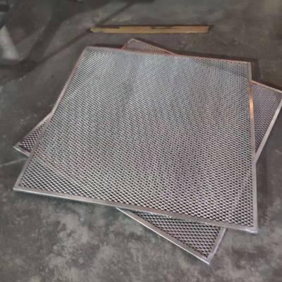 铝扣板吊顶 商场中庭镂空隔断装修效果图 镂空板