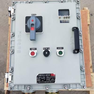 防爆带按键仪表控制箱型号 防爆称重仪表配电箱尺寸 防爆可以不开盖调试仪表配电箱(柜)生产厂家