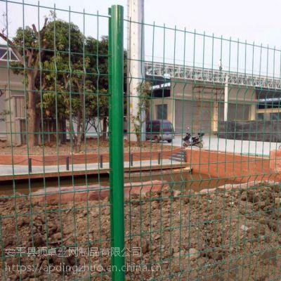 厂区铁丝网防护网 学校围墙护栏 体育场隔离围栏厂家直销