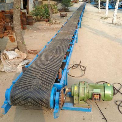 化工原料滚筒带式输送机 兴亚茶叶皮带输送机型号