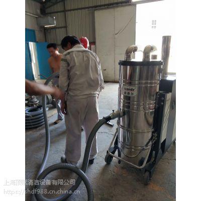 钢铸熔炉车间吸钢花铁砂用威德尔自动反吹工业吸尘器C007AI