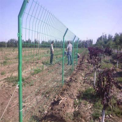 工厂批发隔离护栏网 加强筋折弯护栏 福州围栏网