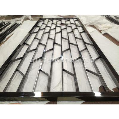 南京不锈钢屏风隔断 南京酒店装饰花格 承接不锈钢装饰工程