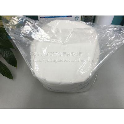 可冲散湿巾生产厂家 湿厕纸oem 珍珠纹全棉卫生湿巾 代工