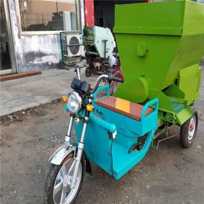 柴油版饲料投料车 机器美观实用的饲料投料车 润丰机械