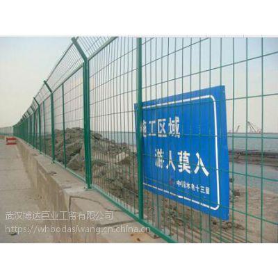 黄冈高速公路铁丝网 道路临边绿色铁丝网厂家 道路沿线围栏厂价出售