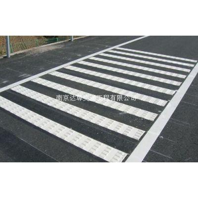 南京道路划线 南京达尊热熔突起型路面标线划线