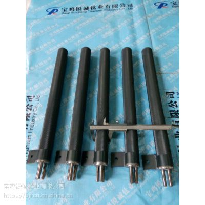 供应循环水除垢钛网桶电极 厂家加工定制钛阳极 宝鸡锐诚钛业