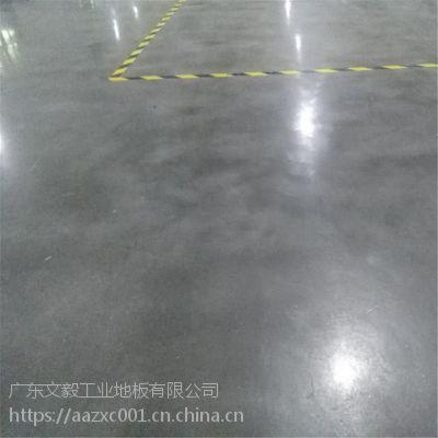 惠州麻榨金刚砂起灰处理 重工业地面固化 厂房抗压耐磨地坪