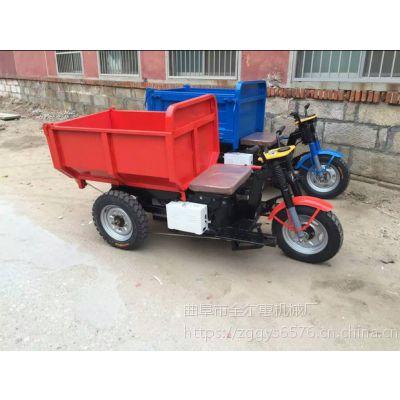 金尔惠建筑工地电动三轮车 农用三轮车