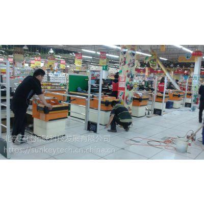 供应收发一体射频超市防盗器 收发一体服装店防盗器 化妆品防盗器