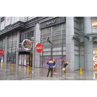 商业区外墙清洗