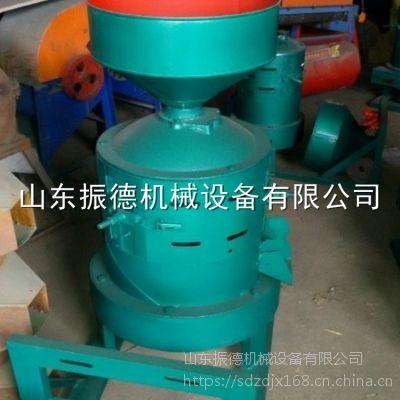 振德牌多功能杂粮脱皮机 立式砂棍碾米机 碾米机厂家