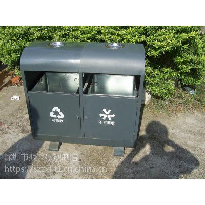 振兴读写漂亮情趣钢制垃圾桶加工(图)设计专业公园制厂家定制图片
