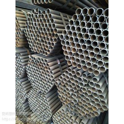 昆明市宝象物流直缝焊管DN15x2.75玉溪厂家配送材质q235b每支重量7.55公斤