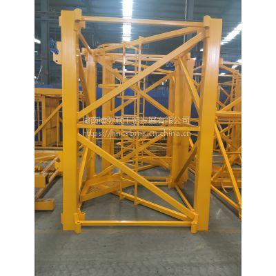 湖南博弥顺国家A级资质认证厂价直销 塔机标准节 片式标准节 塔吊配件 附墙