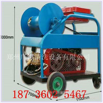 意大利进口高压泵|郑州广源管道疏通机|下水道清洗机|市政管道疏通清洗专用|汽油机驱动