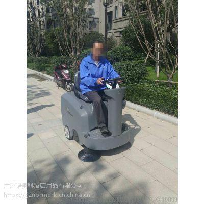 广州番禺停车场驾驶式扫地车