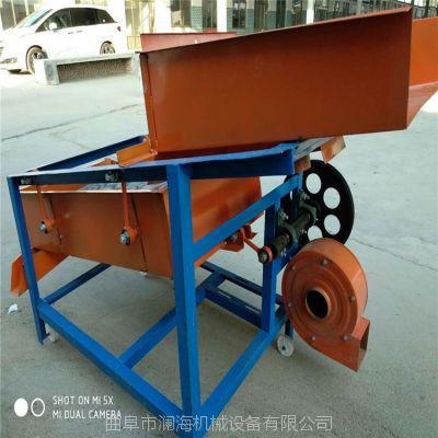 淮北小型家庭用粮食清选机没有中间商厂家直营 规格齐全震动筛选机