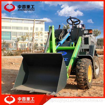 家用农用小型铲车农林机械轮胎式小型装载机单缸四轮装载机