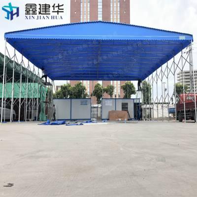 杭州大型物流仓库帐篷 移动帆布遮雨蓬 建德市哪里卖弧形雨棚布