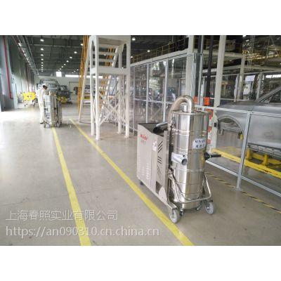车间吸玻璃渣玻璃块大功率吸尘器工厂强力吸尘器威德尔WX100/55