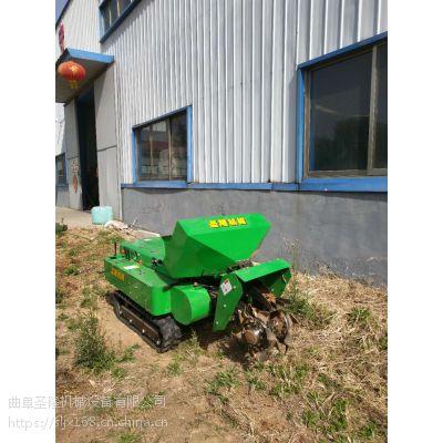 丘陵山地果园施肥机 圣隆爬坡能力强回填机