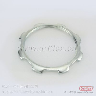 钢管配件 锁母 水纳子 铁镀锌纳子片 根母 并帽